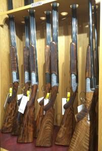 rizzini guns display